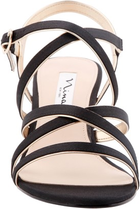 Nina Footwear Slender Strappy Sandals with Heel - Genaya