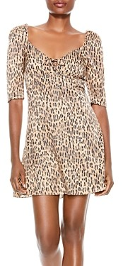 Alice + Olivia Dana Printed Dress