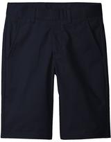 Nautica Husky Flat Front Twill Shorts (Big Kids)