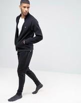 Emporio Armani Slim Cuffed Sweatpants In Black