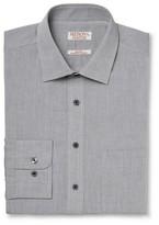 Merona Men's Ultimate Dress Shirt Gray Oxford