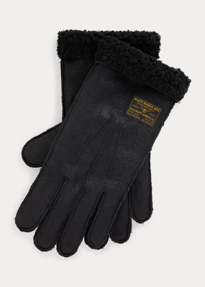 Ralph Lauren Shearling Gloves