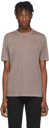 Maison Margiela Three-Pack Grey and Brown Jersey T-Shirt
