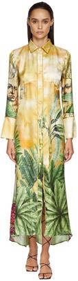F.R.S For Restless Sleepers Damie Printed Jacquard Dress