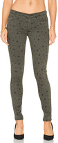 Black Orchid Jude Mid Rise Super Skinny in Green. - size 24 (also in 27)