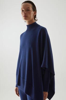 Cos Merino Wool Hybrid Cape