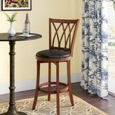 "Cobb Bar & Counter Swivel Stool Red Barrel Studio Seat Height: Counter Stool (24"" Seat Height)"
