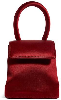 Rubeus Mini Satin Liza Top-Handle Bag