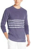 Velvet by Graham & Spencer Men's Jensen Light-Weight Terry Long Sleeve Shirt