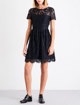 Claudie Pierlot Repeat floral lace dress