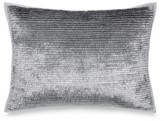 Calvin Klein Caspian Metallic Fringe Silver Cushion Cover 31x42cm