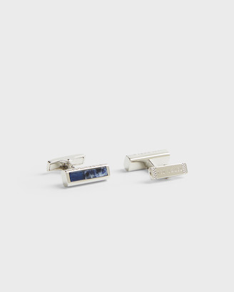 Ted Baker MARSTON Mixed semi-precious bar cufflinks