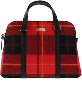 Kate Spade Small Rachelle Plaid Newbury Lane Handbag