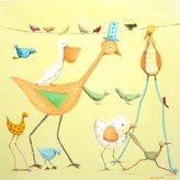 The Well Appointed House Birds on Parade Limited Edition Painting