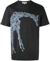 Salvatore Ferragamo giraffe logo T-shirt