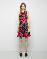 Proenza Schouler Printed A-Line Dress