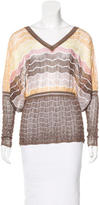 Missoni Open-Knit Patterned Top