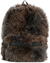 MM6 MAISON MARGIELA furry backpack