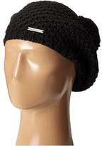 MICHAEL Michael Kors Tuck Stitch Beret with Pom