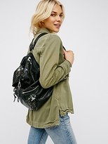 Free People Violet Storm Leather Backpack