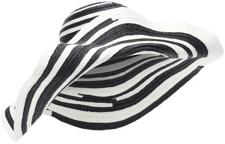 Missoni Mare Striped straw hat