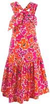 Isa Arfen floral shift dress