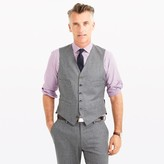 J.Crew Ludlow suit vest in heathered Italian wool flannel