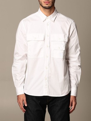 Diesel Basic Shirt With Patch Pockets