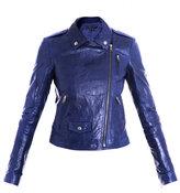 Elenian textured-leather jacket