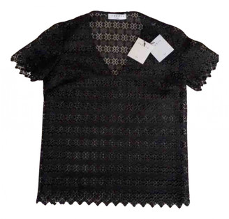 Sandro Black Lace Tops