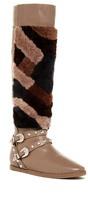 Ivy Kirzhner Husky Genuine Shearling Patchwork Boot