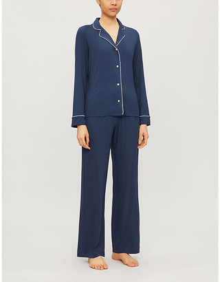 Derek Rose Lara stretch-jersey pyjama set