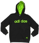 adidas Big Boys Youth Uptempo Full Zip Fleece Hoodie, Color Options (Large (14/16), )