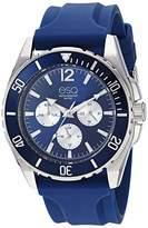 ESQ Men's Multifunction Watch w/ Silicone Strap FE/ 0245