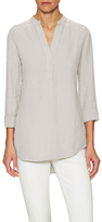 James Perse Solid Henley Top