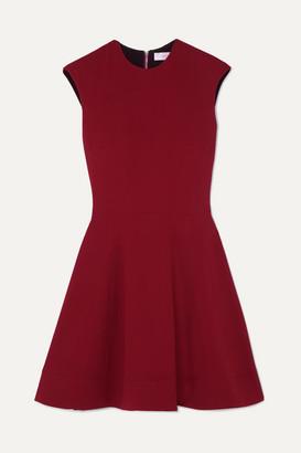 Victoria Beckham Cady Mini Dress - Red