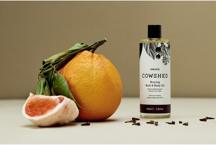 Thumbnail for your product : Cowshed Awake Bracing Bath & Body Oil, 100ml