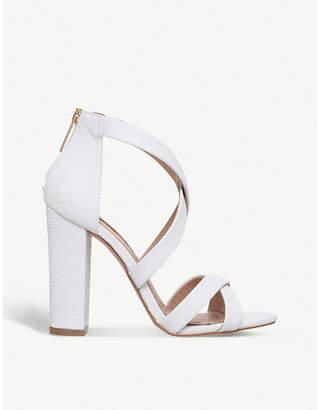 Miss KG Faun reptile-effect sandals