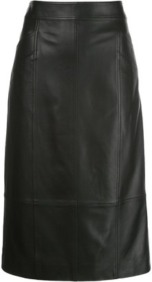 Proenza Schouler White Label High-Rise Pencil Skirt