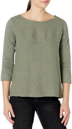Majestic Filatures Women's 3/4 Sleeve Shirt