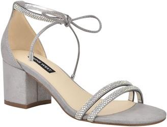 Nine West Ankle Tie Dress Sandals - Keiko
