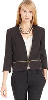 Nine West Convertible Zip-Waist Jacket