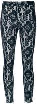Just Cavalli Macramé lace trousers