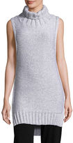 Calvin Klein Collection Dominic Turtleneck Sleeveless Sweater
