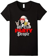 We the party people funny 4th of July Independance Day Shirt