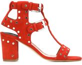 Laurence Dacade studded sandals - women - Suede/Leather - 5.5