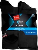 Hanes Men's X-Temp Comfort Cool Crew 6-Pack__ 6-12