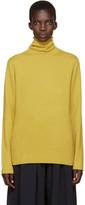 Chloé Yellow Cashmere Turtleneck