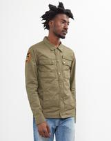Schott NYC Schott Fitted Army Jacket Green