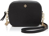 Tory Burch Robinson Round Saffiano Leather Crossbody